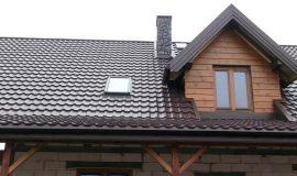 Модульная металлочерепица дом