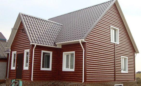 Сайдинг наружный дом
