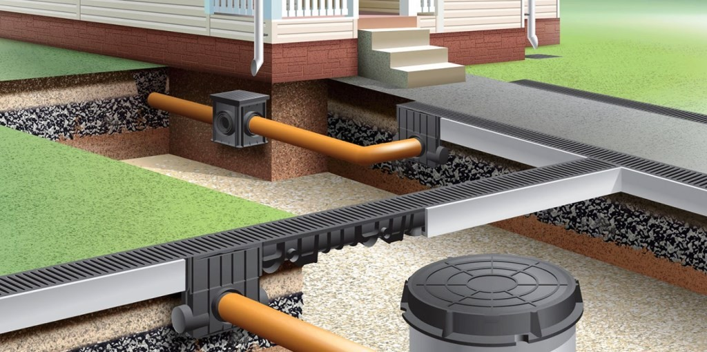 Дренажные системы водоотведения