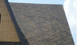 Гибкая черепица Docke крыша дома
