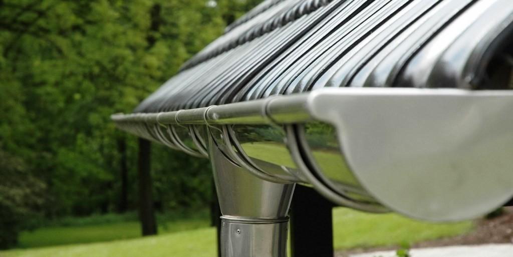 Особенности металлических систем водостоков